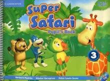 کتاب Super Safari 3 British Pupils+Activity Book+CD