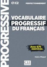 کتاب Vocabulaire progressif français - perfectionnement + CD