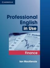 کتاب Professional English in Use Finance