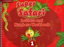 کتاب Super Safari 1 British Letter And Number Workbook