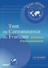 کتاب  Test de connaissance du Français - Livre + CD audio
