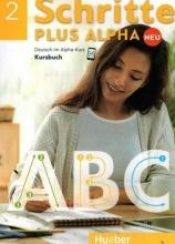 کتاب شریته پلاس آلفا Schritte Plus Alpha 2 - Kursbuch+Trainingsbuch+CD