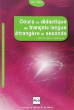 کتاب Cours de didactique du francais langue etrangere et seconde