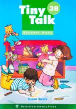 کتاب تایتی تاک Tiny Talk 3B SB+WB+CD