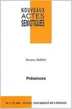 کتاب Nouveaux actes Semiotiqes