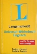 دیکشنری دوسویه Langenscheidt, Universal-Wörterbuch Englisch