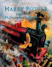 کتاب مصور هري پاتر Harry Potter and the Philosophers Stone - Illustrated Edition Book 1