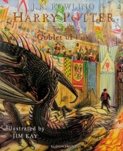 کتاب مصور هري پاتر Harry Potter and the Goblet of Fire - Illustrated Edition Book 4