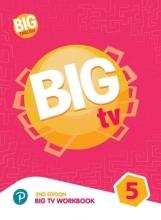 كتاب بیگ انگلیش تی وی 5 ویرایش دوم BIG English TV 5 + CD 2nd