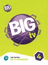 كتاب بیگ انگلیش تی وی 4 ویرایش دوم BIG English TV 4 + CD 2nd