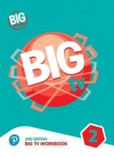 كتاب بیگ انگلیش تی وی 2 ویرایش دوم  BIG English TV 2 + CD 2nd