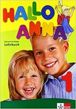 کتاب Hallo Anna 1: Lehrbuch + Arbeitsbuch + CD