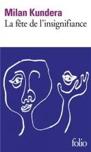 کتاب La fete de l'insignifiance
