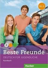 کتاب beste freunde B1.1: kursbuch + arbeitsbuch+ cd