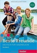 کتاب  beste freunde A1.2 deutsch fur gugedliche kursbuch + arbeitsbuch+ cd