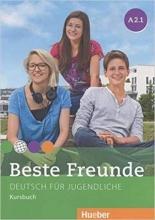 کتاب beste freunde A2.1 deutsch fur gugedliche kursbuch + arbeitsbuch+ cd