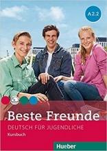 کتاب آلمانی کودکان بسته فونده Beste Freunde A2.2 kursbuch + arbeitsbuch + CD