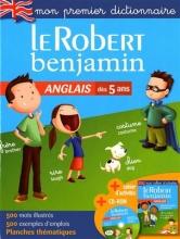 کتاب Dictionnaire Le Robert Benjamin anglais