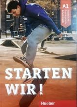 کتاب آلمانی اشتارتن ویر Starten wir! A1: kursbuch und Arbeitsbuch mit CD گلاسه