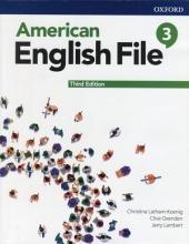 کتاب امریکن انگلیش فایل 3 ويرايش سوم : American English File 3 3rd Edition
