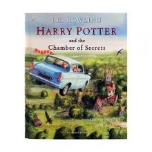 کتاب Harry Potter and the Chamber of Secrets - Illustrated Edition Book 2
