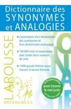 کتاب Dictionnaire des synonymes et analogies