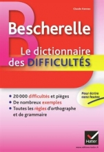 کتاب Bescherelle Le Dictionnaire des Difficultes