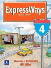 کتاب آموزشی اکسپرس ویز 4 ویرایش دوم Expressways Book 4 (2nd) SB+WB+CD