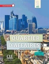 کتاب Quartier d'affaires 1 - Niveau A2 - Livre+Cahier+DVD