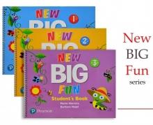پک سه جلدی کتاب نيو بیگ فان New Big Fun + CD