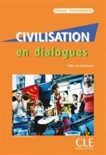 کتاب Civilisation en dialogues - intermediaire + CD
