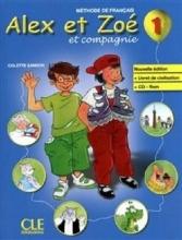 کتاب alex et zoe 1 dictionnaire CDROM
