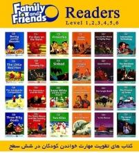 کتاب های داستان فمیلی اند فرندز Family and Friends Reader