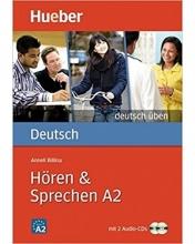 کتاب آلمانی هوقن اند اشپقشن Deutsch Uben: Horen & Sprechen A2 + CD