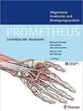 كتاب PROMETHEUS Allgemeine Anatomie und Bewegungssystem LernAtlas der Anatomie ( سیاه سفید)
