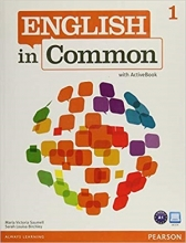 کتاب  English in Common (1) SB+WB+CD