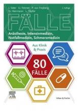 كتاب 80 Fälle Anästhesie Intensivmedizin Notfallmedizin Schmerzmedizin (سیاه سفید)