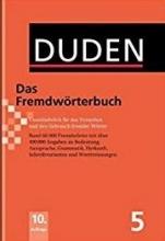 کتاب (سیاه و سفید) Duden Das Fremdworterbuch