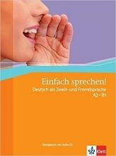 کتاب آلمانی Einfach Sprechen: Ubungsbuch MIT Audio-CD by Sandra Hohmann