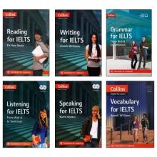 پکیج 6 جلدی کتابهای کالینز Collins For IELTS