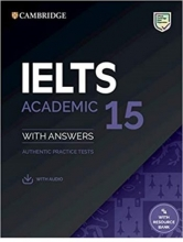 IELTS Cambridge 15 Academic + CD 2020