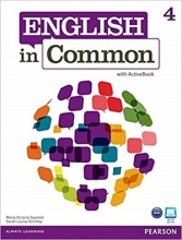 کتاب  English in Common (4) SB+WB+CD