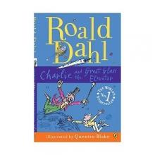 کتاب رمان انگلیسی چارلی و آسانسور شیشه ای Roald Dahl : Charlie and the Great Glass Elevator