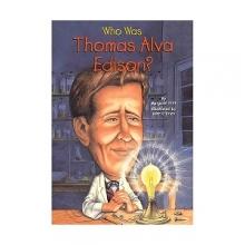 کتاب Who Was Thomas Alva Edison