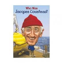کتاب داستان انگلیسی جاکوب کاستیو Who Was Jacques Cousteau?