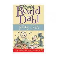 کتاب داستان انگلیسی رولد دال سفر تک نفره Roald Dahl : Going Solo