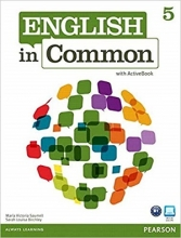 کتاب English in Common (5) SB+WB+CD