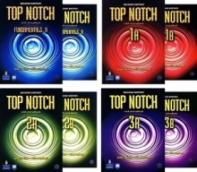 پک کامل تاپ ناچ ویرایش دوم Package Top Notch 2nd Edition + CD