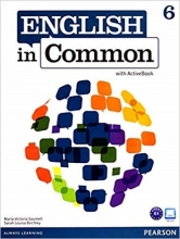 کتاب English in Common (6) SB+WB+CD