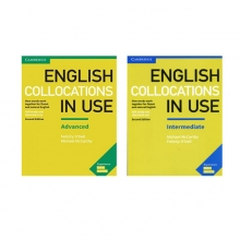 پک کامل کتاب کالوکیشن این یوز English Collocation in Use 2nd Edition intermediate + advanced